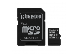 Thẻ Nhớ MicroSDHC Kingston Canvas Select 32GB Class 10 U1