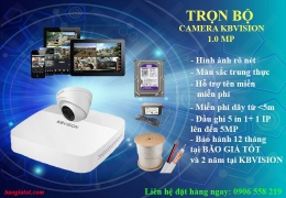 Trọn bộ camera HD KBVISION 1.0MP